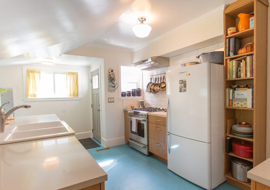 Modern-Retro Westside Kitchen