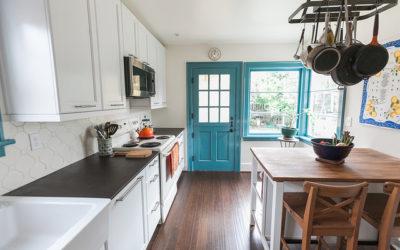 Blue Kitchen Ravenna